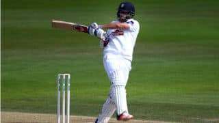 Sean Ervine's double ton takes Hampshire on top