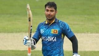 Sri Lanka's sports minister urges Kumar Sangakkara to reconsider his retirement decision