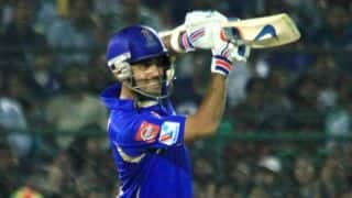 Live Cricket Score IPL 2014: Rajasthan Royals (RR) vs Kings XI Punjab (KXIP) match 7 of IPL 7 at Sharjah