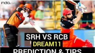 RCB vs SRH Dream11 Team Hints Fantasy Cricket Tips, Captain, Vice-Captain, Probable XI's For Today's Bangalore vs Hyderabad 52th Match at  Sharjah Cricket Stadium, Sharjah 7:30pm Saturday October 31