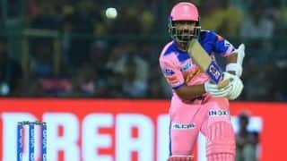 Ajinkya Rahane is not happy after Rajasthan almost mess it up vs Mumbai