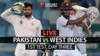 WI 315/6 in 109 overs | Live Cricket Score, Pakistan vs West Indies, 1st Test, Day 3: Stumps