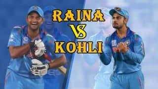 Suresh Raina faces uphill battle to usurp Virat Kohli as India's No 2