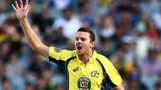 Josh Hazlewood set to miss Brisbane ODI