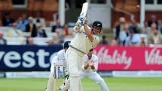 Corey Anderson, BJ Watling score half-centuries in England vs New Zealand. Day Five 1st Test at Lord's