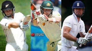 Yearender 2015: Top 10 batsmen in Test cricket