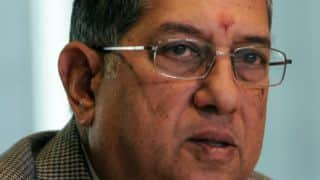 N Srinivasan's 6 state bodies raise objections against BCCI's SGM