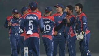 ICC World T20 2014: Nepal fans celebrate win over Afghanistan