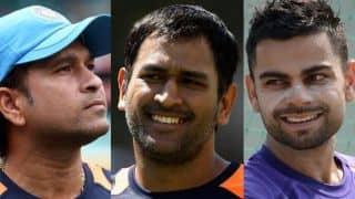 Sachin Tendulkar, MS Dhoni and Virat Kohli most searched sportsmen by Google in 2015
