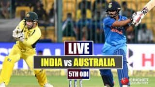 Highlights, IND vs AUS, 5th ODI: India seal series 4-1, climb No.1 spot in rankings