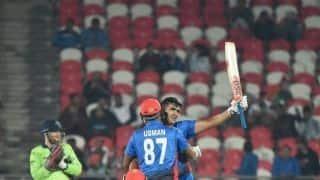 देहरादून  टी-20: जजई ने खेली 162 रन की नाबाद पारी, अफगानिस्तान ने बनाया वर्ल्ड रिकॉर्ड