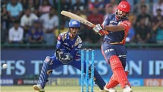 IPL 2018: Rishabh Pant dazzles for DD; MI need 175 to advance to Playoffs