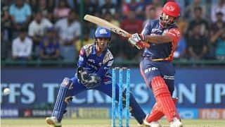 IPL 2018: Rishabh Pant dazzles for DD; MI need 175 to advance to Playoffs