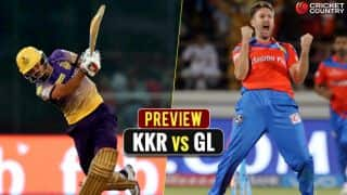 KKR look to keep momentum against GL