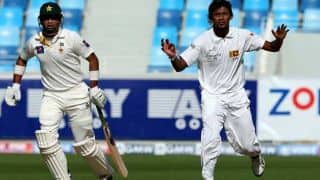 Pakistan reach 57/1 at lunch in 2nd Test against Sri Lanka at Dubai