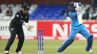 India vs New Zealand, ICC Women's World Cup 2017: Mithali Raj's century, Harmanpreet Kaur and Veda Krishnamurthy's fifties steer Indian Eves to 265/7