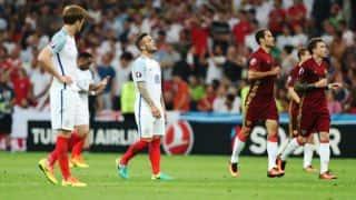 Russia's Vasili Berezutski's late strike holds England at 1-1 in Euro 2016 Group B clash