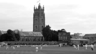 The day Harold Heygate became the first batsman to be