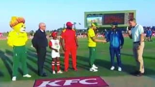 South Africa captain Faf du Plessis introduces 'specialist coin tosser'