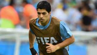 Luis Suarez 100 per cent fit to face England in FIFA World Cup 2014 Group D clash