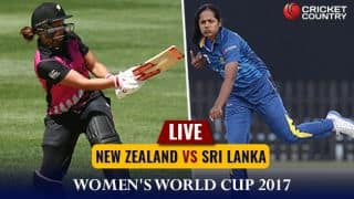 Live cricket score, NZ Women vs SL Women, 1st match, ICC Women's World Cup 2017