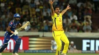 IPL final: Chennai Super Kings need 150 after Chahar, Tahir contain Mumbai Indians