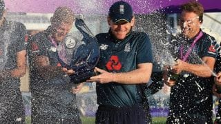 Eoin Morgan channels 'once-in-a-generation opportunity' for England