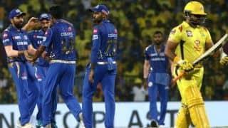 चेन्नई के खिलाफ जीत की हैट्रिक, 5वीं बार IPL फाइनल में पहुंची मुंबई