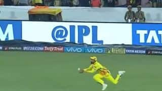 Watch Jadeja take stunning catch to dismiss Williamson