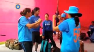Video: India Women's Team dance to Dwayne Bravo's 'Champion' song