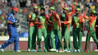 Bangladesh start ICC World T20 2014 with a convincing 9-wicket win over Afghanistan