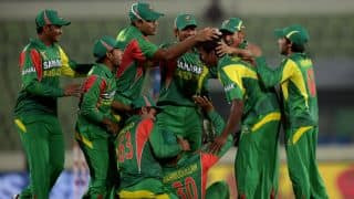 Bangladesh vs Sri Lanka, Asia Cup 2014 Match 10: Lahiru Thirimanne throws wicket away; score 95/5