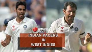 India vs West Indies 2016: 'Test' for Indian pacers