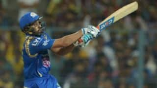 Rohit Sharma's 62 powers Mumbai Indians to 6-wicket win over Royal Challengers Bangalore in IPL 2016