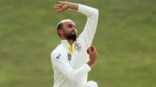 Nathan Lyon feels his test spot is under threat