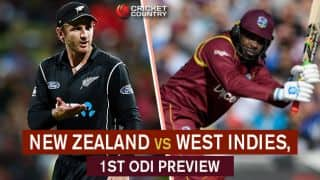 New Zealand vs West Indies, 1st ODI preview and likely XIs: Chris Gayle's comeback powers the lowly Windies
