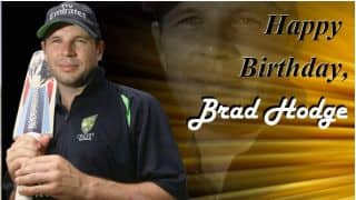 Happy Birthday, Brad Hodge!