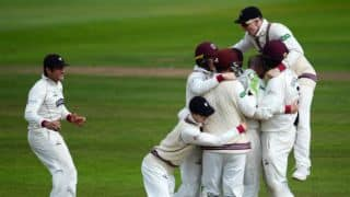 Somerset prepare legal action over relegation threat
