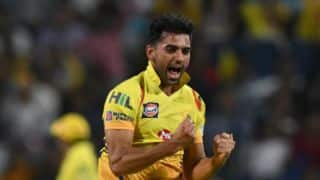 Fleming impressed with Deepak Chahar's bowling skills