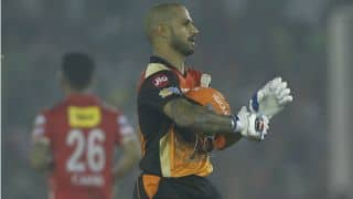 IPL 2017: It was the Shikhar Dhawan of old, says David Warner after Sunrisers Hyderabad defeated Kings XI Punjab