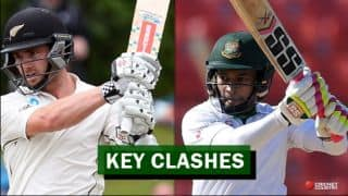 Bangladesh vs New Zealand, 1st Test at Wellington: Kane Williamson vs Mushfiqur Rahim and other Key battles
