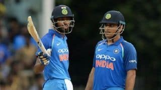 3rd ODI: Dinesh Karthik replaces injured MS Dhoni, Hardik Pandya makes a comeback