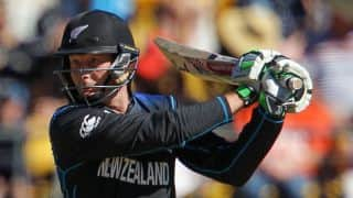 Live Cricket Score New Zealand vs West Indies ICC Cricket World Cup 2015:  NZ win by 143 runs, qualify for Semi-Final