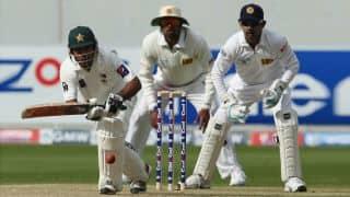 Sri Lanka vs Pakistan 2014, 2nd Test at SSC: Sarfraz Ahmed scores maiden Test century as visitors look to gain lead against Sri Lanka