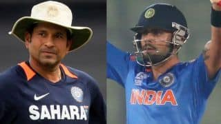 Virat Kohli accept Sachin Tendulkar fitness kit up challenge