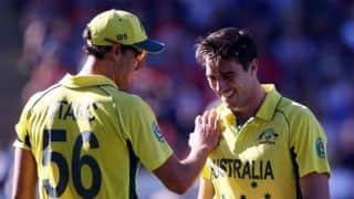 Cricket News Live – Finch backs Starc, Cummins; Dube praises Kohli