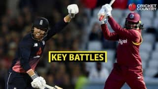 Jonny Bairstow vs Chris Gayle and other key battles from 2nd ODI between England and West Indies