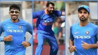 ICC WORLD CUP 2019: Know home and Away records of Jasprit Bumbrah, Bhuvneshwar Kumar, Mohammad Shami