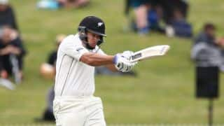 Lunch Report: New Zealand finish at 77-2 in rain-truncated session against Pakistan in 2nd Test, Day 1