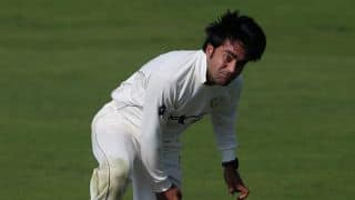 ICC Intercontinental Cup: Afghanistan's all-round brilliance takes them to a lead of 128 at stumps on Day 1 against Hong Kong